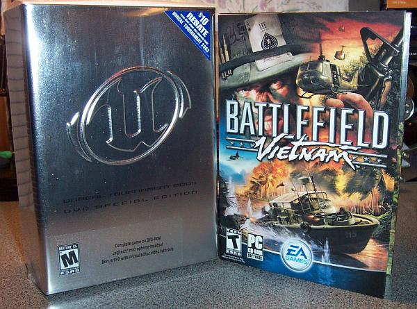 UT2004 and Battlefield Vietnam