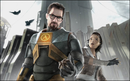 Gordon and Alyx - Half Life 2: Episode One