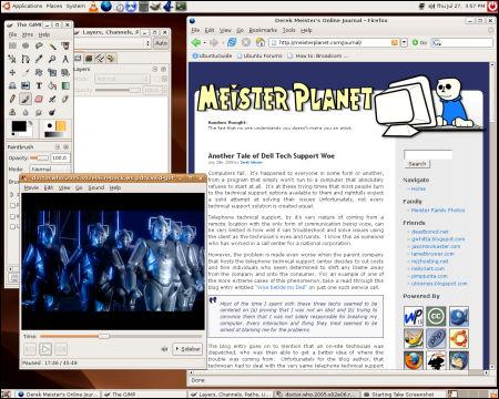 Ubuntu Linux - Dapper Drake edition - Desktop