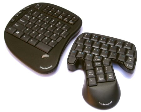 Combimouse - Combination Keyboard and Mouse