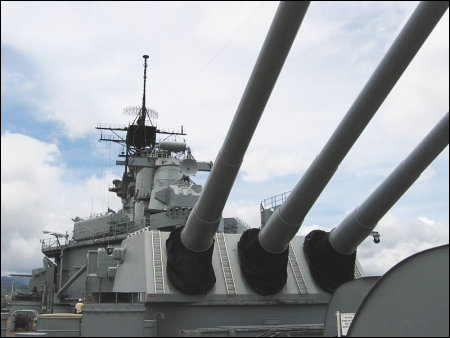 USS Missouri - Pearl Harbor, Hawaii