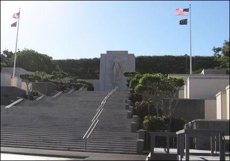 The Punchbowl - National Memorial Cemetery of the Pacific