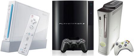 Nintendo Wii - Sony Playstation 3 - Microsoft Xbox 360