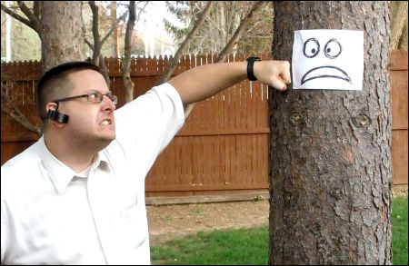 Celebrate Earth Day - Punch a Tree!