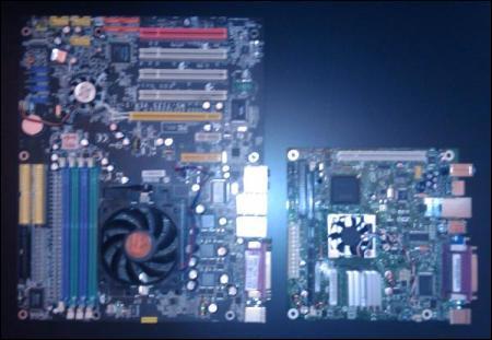 AMD ATX Motherboard versus Atom Mini ITX Motherboard