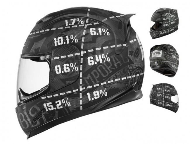 Icon 1000 Airframe Statistic Helmet