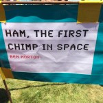 Duck Tape Festival - First Chimp in Space
