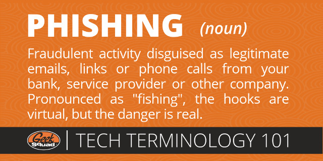 GS Tech Terms 101 - Phishing