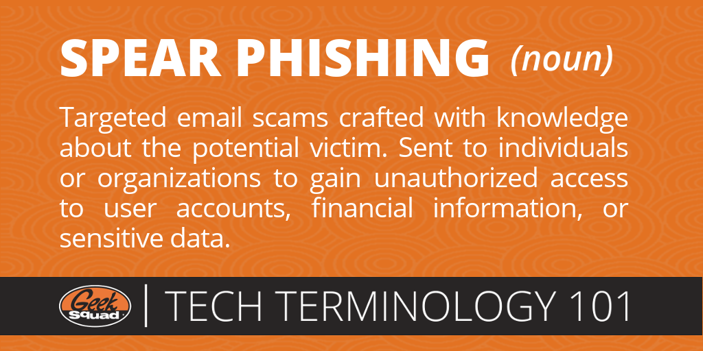 Tech Terms 101 - Spear Phishing