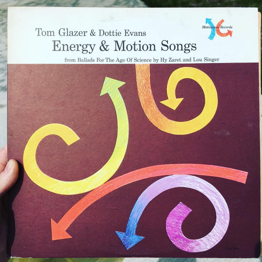 Energy & Motion Vinyl LP Record
