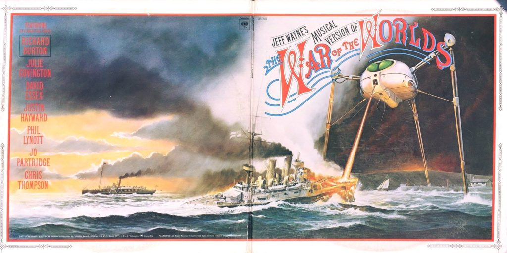 Musical Version of War of the Worlds on Vinyl