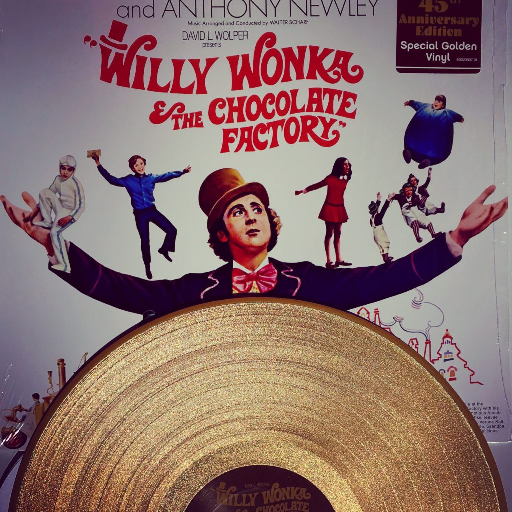 Willy Wonka & the Chocolate Factory vinyl album
