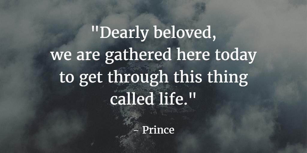 Rest in Peace, Prince